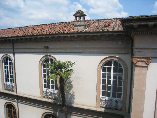 San Luca Palace Hotel: View from our room's window