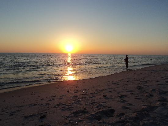 St. Joseph Peninsula State Park: Sunset on the Gulf