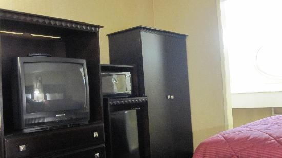 Comfort Inn Near Warner Center: TV/Fridge/Microwave/Armoire