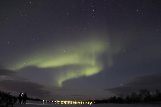 Davvi Arctic Lodge: the northern lights