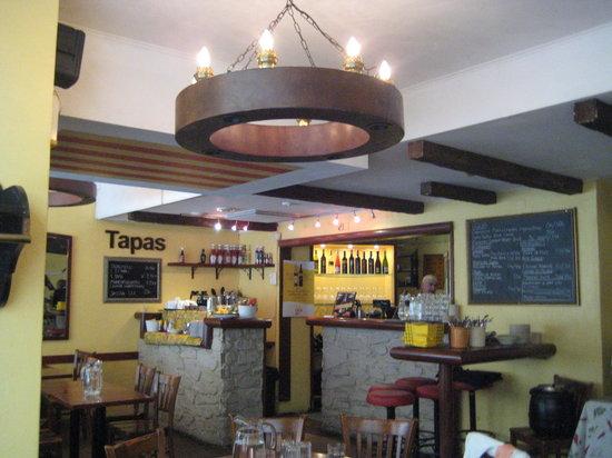 Tapas Bar Celona: Inside the restaurant