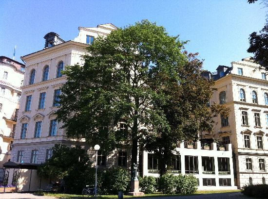 Lydmar Hotel: fachada e lateral do hotel