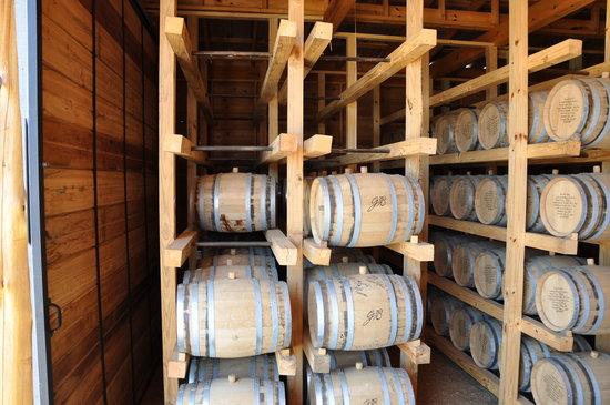 Garrison Brothers Distillery: Barrel Barn