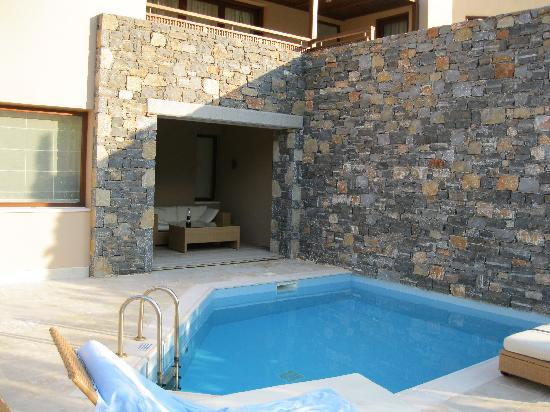 Blue Palace, a Luxury Collection Resort & Spa, Crete: private pool