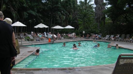 Hale Koa Hotel: one of the pools