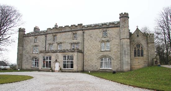 Thurnham Hall from the front