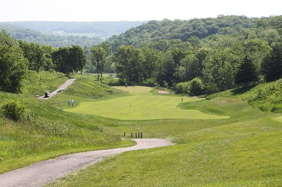 Eagle Ridge Resort & Spa: 1st hole of the General golf course