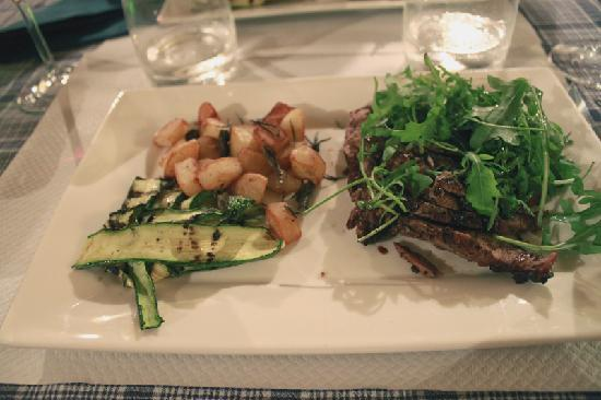 La Locanda nel Cassero: delicious cinghiale (wild boar)