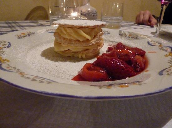 La Locanda nel Cassero: not too sweet, just perfect - everything we had was delicious. portions are perfect, not too muc
