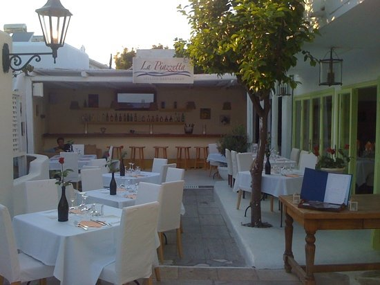 La Piazzetta : un oasi a Mykonos