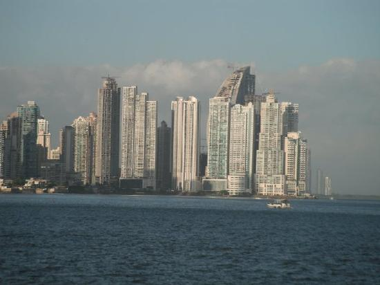 Panama City, Panama: view from casco viejo (old city)
