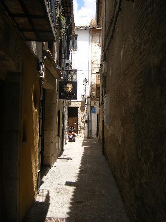 Hotel Casa 1800 Granada: Street