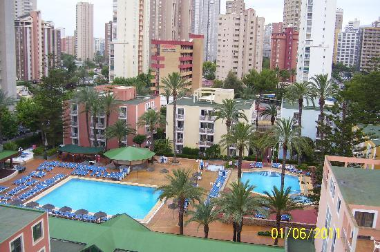 Servigroup Pueblo Benidorm : View from balcony