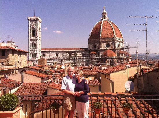 B&b Casa di Dante: We're now engaged!