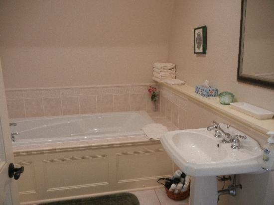 Barachois Inn: Spotless bathroom