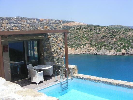 Daios Cove Luxury Resort & Villas : Villa with private pool