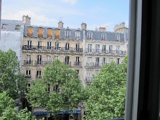 Hotel de Suez: View from room 401 on Blvd St Michel