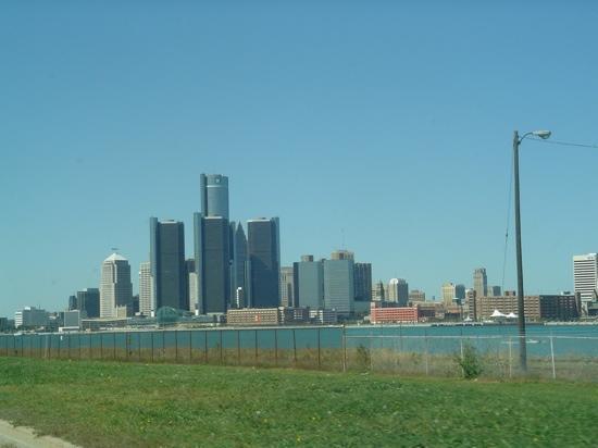 GM Renaissance Center: Detroit renaissance centre