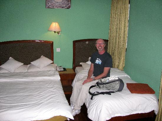 Hotel Ganesh Himal: Our room.