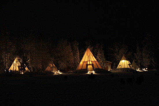 Teepee's at Aurora Village