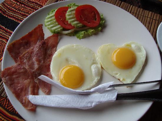 โรงแรมบ้านอันดามัน เบด แอนด์ เบรคฟาสต์: The breakfast