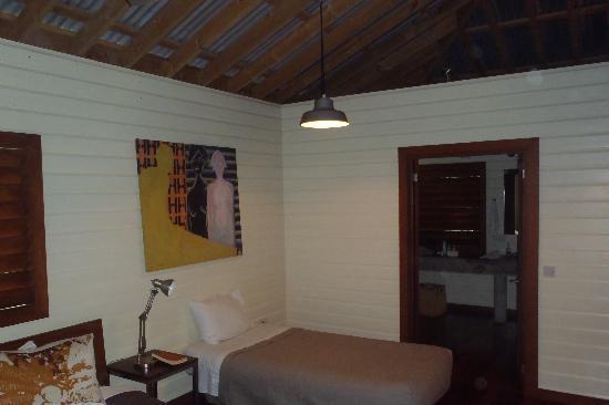 Pagua Bay House Oceanfront Cabanas : Pagua Bay Cabana #4 Inside