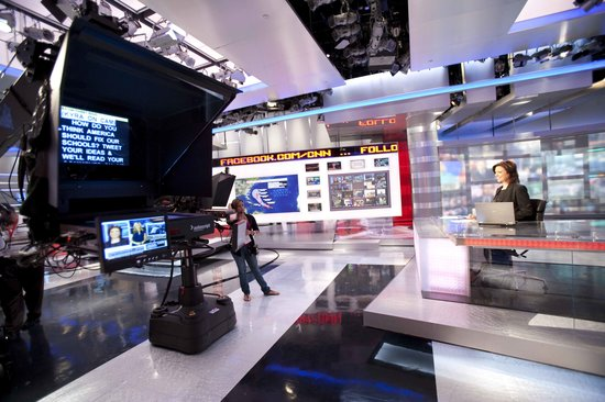 Atlanta, GA: CNN's HD Studio 7
