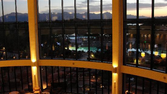 Ko' Sin: The vista from the main lobby was great as well