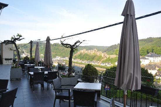 Panorama Hotel: meme vue que depuis la chambre