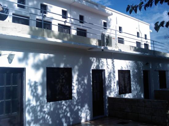Avra Apartments: outside the apartment