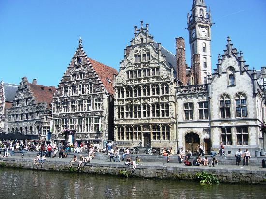 Ghent, Bélgica: Gent waterfront