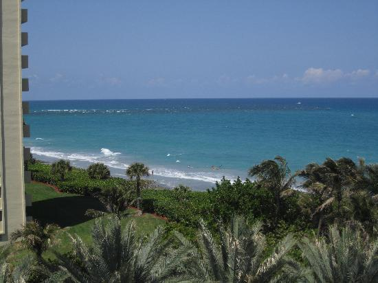 Jupiter Beach Resort & Spa: View from our room