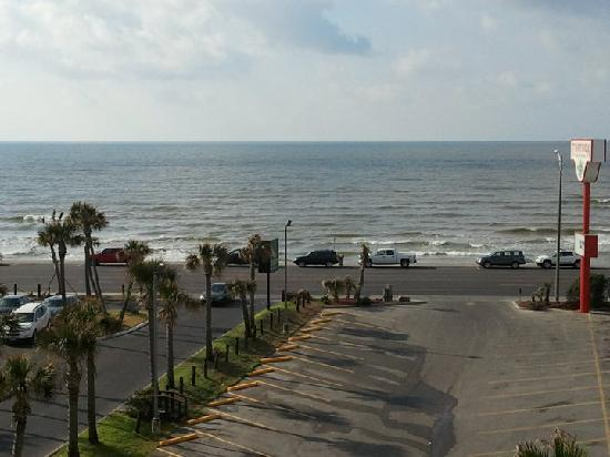Quality Inn & Suites Beachfront : View From The Room We Stayed In