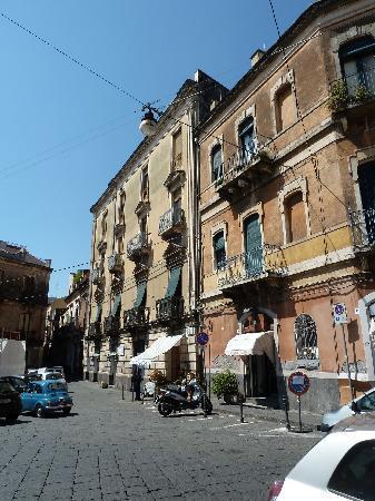 Acireale street scene