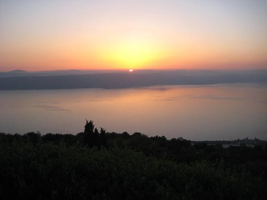 Peace Vista Country Lodge (Mitzpe Hashalom): The sunset
