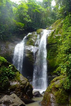 Waterfall near Puerto Viejo
