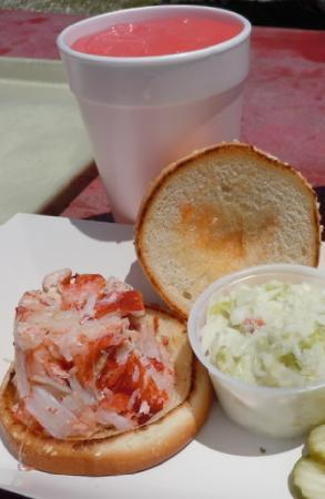 Abbotts Lobster In The Rough Hot Sandwich