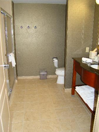 Hampton Inn Bryant: Huge bathroom!