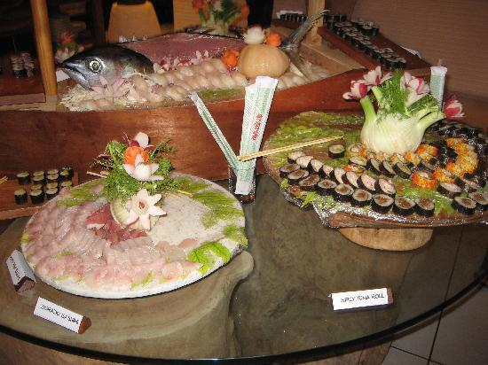 Denis Island, Seychelles: Sushi night...
