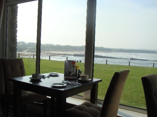 Spanish Point, Ireland: The view at breakfast time