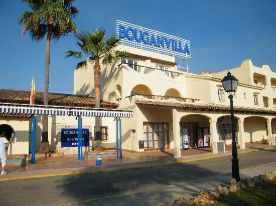 Sa Coma, Spanyol: bouganvilla park hotel