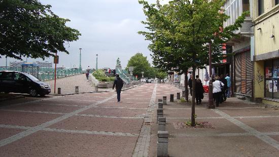 Charleroi, Belgique : Kent Merkezi