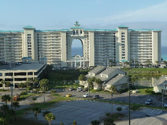 Ariel Dunes at Seascape Resort: view from condo