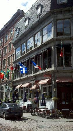 Montreal, Canada: One of the many wonderful bistros
