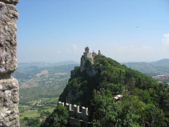 Saint-Marin : Castle