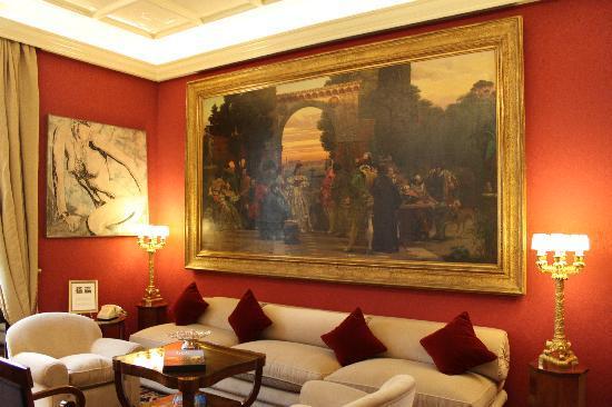 Hotel Regency: Sitting room