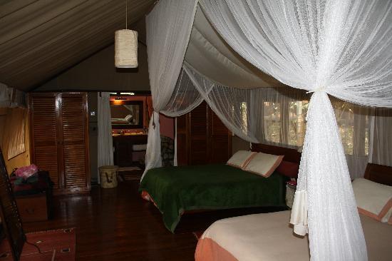 Sanctuary Olonana Inside Tent 8 -- Home sweet home & Inside Tent 8 -- Home sweet home - Picture of Sanctuary Olonana ...