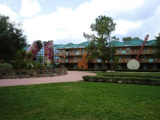 Disney's All-Star Music Resort: One of the Country Fair blocks