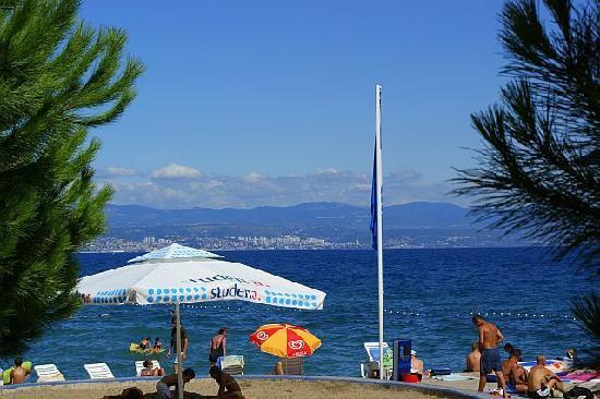 Hotel Villa Vera: Am Strand