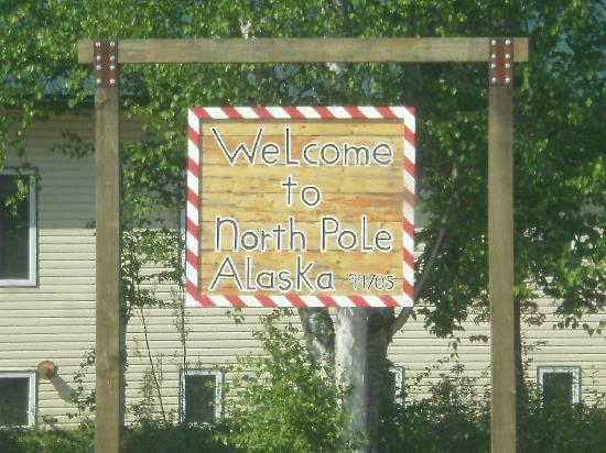 ‪‪North Pole‬, ‪Alaska‬: Welcome to the North Pole‬